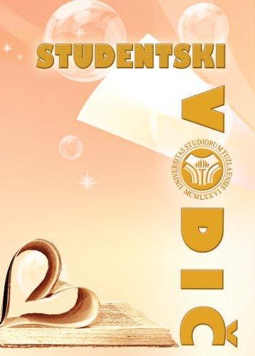 Studentski vodič 2012/13 - PMF - Univerzitet u Tuzli