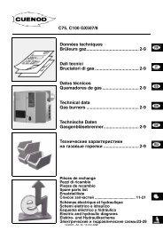 газовые горелки C75-100GX507. Технический паспорт