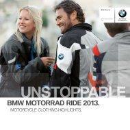 BMW MOTORRAD RIDE 0 .