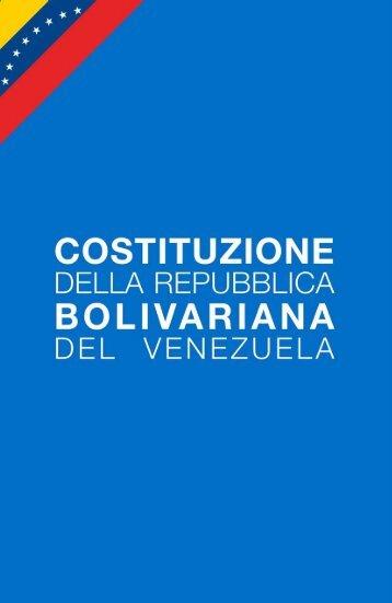 Constitucion (Italiano) - MinCI