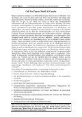 Call for Papers - ZAG der Universität Freiburg - Albert-Ludwigs ... - Page 2