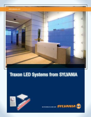 Traxon LED Systems from SYLVANIA - Osram Sylvania