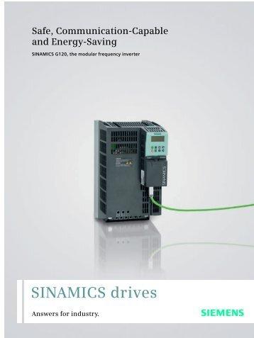 SINAMICS drives - Siemens