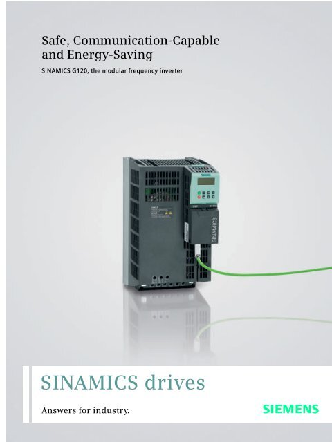 SINAMICS drives - Siemens