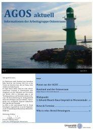 AGOS Aktuell, Nr.4, Juni 2013 - Wirtschafts - Universität Rostock