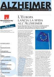 Notiziario 35 - Alzheimer Italia