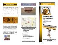 Chappelow Brochure - Greeley Schools