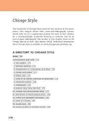 Chicago Style - WW Norton & Company