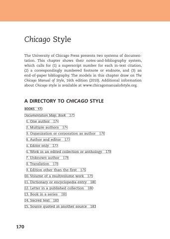 Chicago Style - WW Norton & Company