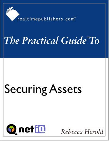 The Practical Guide to Security Assets - Computer Troubleshooters ...