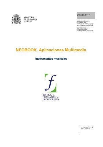 Instrumentos musicales - Instituto Nacional de Tecnologías ...