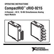 National Instruments cRIO-9215 Manual (pdf)