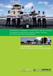 Certificate in Australian Private Pilot Licence Training Australian ...