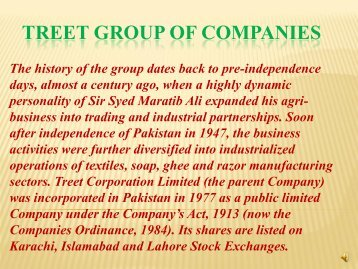 TREET - Lahore Stock Exchange