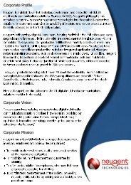 Linux PC-based Surveillance Solutions - Neugent Technologies, Inc.