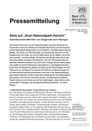 Nürnberg, 01.02.96 - Nationalpark Steigerwald