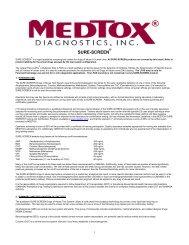 SURE-SCREEN - Medtox