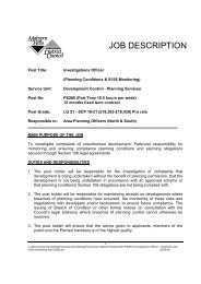 JOB DESCRIPTION - Worcestershire County Council
