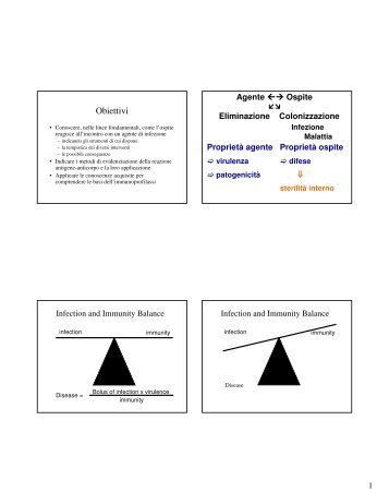 immunità innata - E-learning