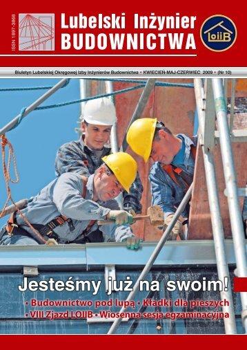 Nr 10. Pobierz w formacie PDF - Lubelska Okręgowa Izba ...