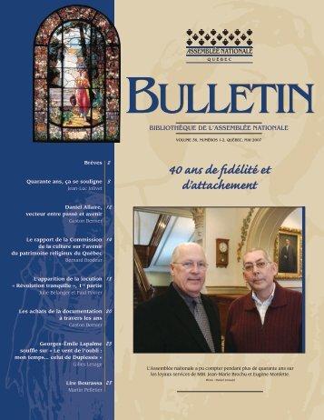 Photo - Bibliothèque - Assemblée nationale du Québec