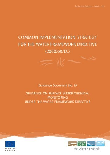 Surface water chemical monitoring - Cliwat.eu