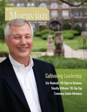 Cultivating Leadership - Moravian College
