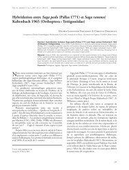 Hybridation entre Saga pedo - Taylor & Francis Online