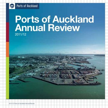 Ports of Auckland Annual Review