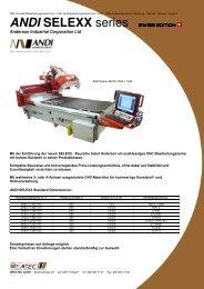 ANDI SELEXX series SWISS EDITION SWISS ... - DREATEC GmbH
