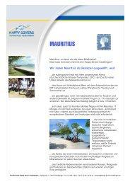 mauritius infos - Happy Divers Asselfingen