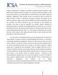 Instituto de Ciencias Sociales y Administración - Page 2