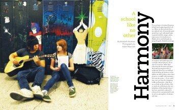 Harmony, a School Like No Other