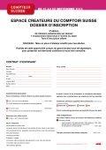 L'ESPACE CREATEURS DU COMPTOIR SUISSE - Swissceramics - Page 4