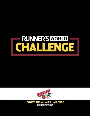 Goofy and a Half CHallenGe - Runner's World