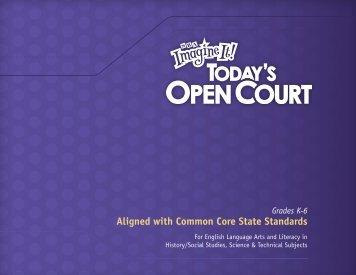 Common Core State Standards • GRADE K - Macmillan/McGraw-Hill
