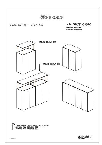 Qadro (Armario) - Steelcase