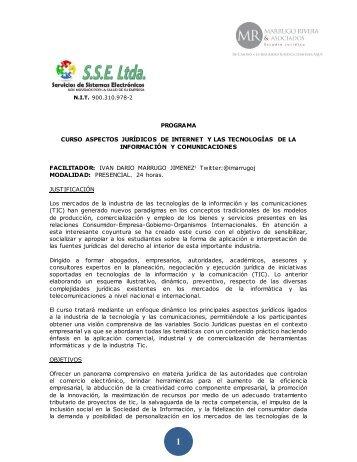 Brochure detallado - SSE