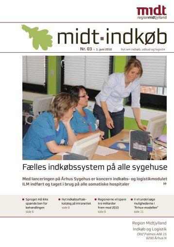 Fælles indkøbssystem på alle sygehuse - Region Midtjylland