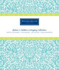 babies & children personalization catalog - Boatman Geller