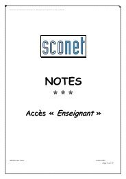 Ouvrir AIDE NOTES - Mission TICE