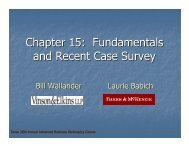 Chapter 15: Fundamentals and Recent Case Survey