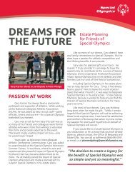 March 2013 (PDF) - Special Olympics
