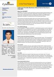 Download PDF - Cyberoam