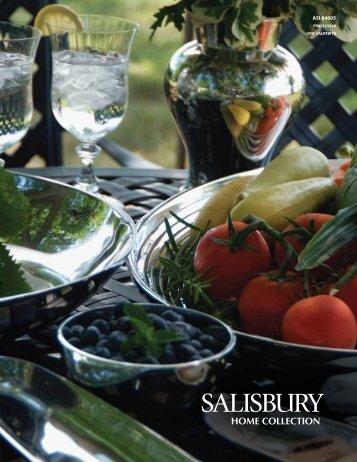 Catalog Download PDF - Salisbury Pewter