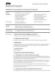 Sitzung 2/08 vom 06.05.08 - Departement Bau, Umwelt und Geomatik