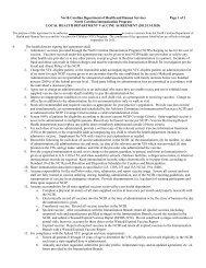Local Health Department Vaccine Agreement - Immunization Branch