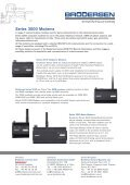Series 3000 Modems - Page 2
