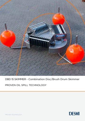 DBD 15 SKIMMER - Combination Disc/Brush Drum Skimmer - Desmi