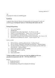 Kallelse 5 juni.doc - Göteborgsregionens kommunalförbund
